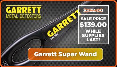 Garrett Super Wand Metal Detector
